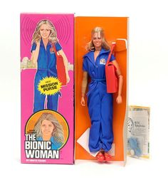 "jaime sommers doll - ""The Bionic Woman"" I had all her different outfits"