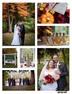 River Stone Manor October Wedding Autumn Theme