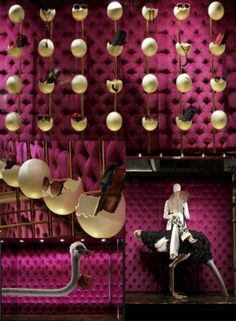 Louis Vuitton Easter store display in Flagship Store on 5th Avenue NY