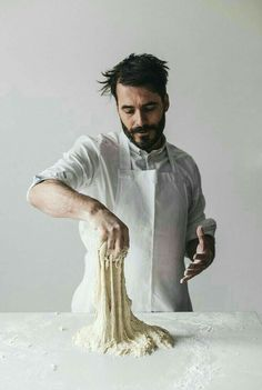 bread making, food photography