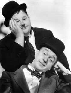 Stan Laurel & Oliver Hardy. I watched them everyday after school. They were so funny and always made me laugh.