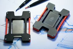 Matrix Titanium and Carbon Fiber Credit Card Holder