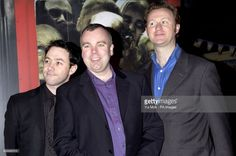 'The League of Gentlemen', from left to right; Reece Shearsmith, Steve Pemberton and Mark Gatiss arrive for the world premiere of Shaun of the Dead, at the Warner West End cinema in Leicester Square, central London Royston Vasey, Inside No 9, Steve Pemberton, Reece Shearsmith, League Of Gentlemen, Mark Gatiss, Leicester Square, Photo Grouping, British Isles