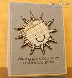 Sunshine and Smiles by Lucy Abrams, via Flickr