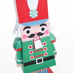 Nutcracker printable craft