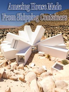 Amazing House Made From Shipping Containers