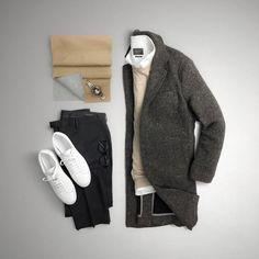 Mens Fashion Rugged – The World of Mens Fashion Men Fashion Show, Look Fashion, Daily Fashion, Mens Fashion, Fashion Menswear, Fashion Tips, Gentleman Mode, Gentleman Style, Lookbook Mode