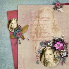 Made using LouCee Creations and Designs by Tina's portions of Take Your Picks.  Template Sweet Composition by Christaly  Poem by Pam Callaghan  For Angela