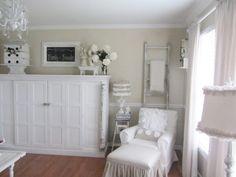 Junk Chic Cottage: My Cottage Home   entertainment center/ fp mantel