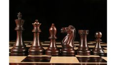 Weighted Staunton Chess Set Pieces Rose Wood w/o Board. http://www.chessbazaar.com/chess-pieces/mid-range-chess-pieces/weighted-staunton-chess-set-pieces-rose-wood-w-o-board.html