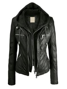 I want this leather jacket!