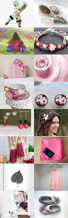 Pink Gifts Ideas for Women by Vilma Matuleviciene on Etsy--Pinned+with+TreasuryPin.com