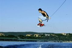 wakeboard lake austin.....perfect day for it