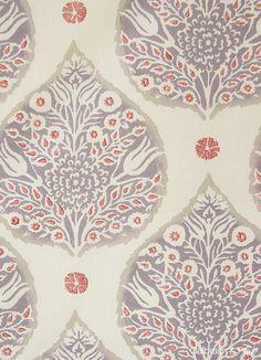 love this colors scheme Galbraith & Paul Textile Patterns, Textile Design, Print Patterns, Design Patterns, Lotus Wallpaper, Fabric Wallpaper, Surface Pattern Design, Pattern Art, Creative Textiles