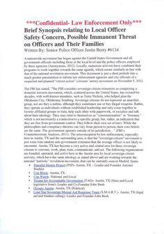 Pinterest is censoring this link and not pulling it but it is this.....  http://theantimedia.org/police-claim-cop-block-peaceful-streets-project-and-activists-of-america-are-an-imminent-threat/   Berry-Report-1