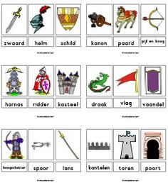 use the pictures for lots of things Castle Project, Learn Dutch, Knight Party, Château Fort, World Literature, Knight In Shining Armor, Medieval Knight, Vacation Bible School, Medieval Times