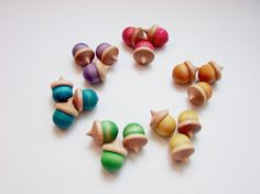 Cute! The Upcycle Exchange has a big bin of nature pieces - including acorns!