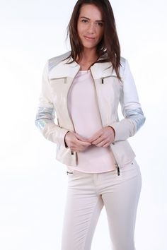 ROMANE Leather Jacket - Available on www.cuirparis.fr