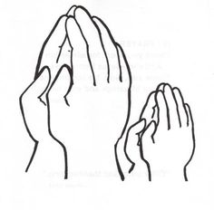 Praying Hands Coloring Pages For Kids Religious cakes