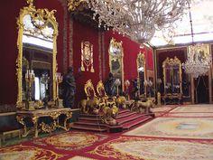 Salón del Trono, Palacio Real de Madrid by twiga_swala, via Flickr.  Palace in Madrid