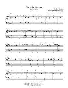 tears in heaven chords pdf