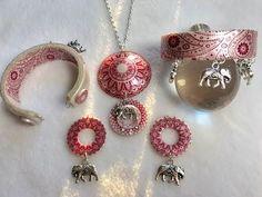 Silk Screened Jewelry