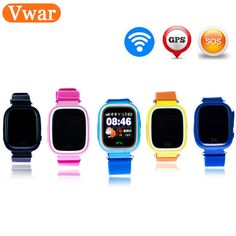 sale original q90 gps phone positioning children watches with wifi sos smart baby kids watch anti lost #kid #tracker
