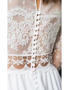 Robe de mariée Folk Dream Wedding Dresses, Bridal Dresses, Wedding Gowns, Dresses Dresses, Wedding Bells, Boho Wedding, Garden Wedding, Casual Wedding, Spring Wedding