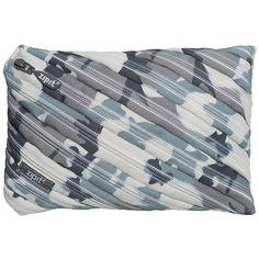 ZIPIT Camo Jumbo Pencil Case, Grey Camouflage ($25) ❤ liked on Polyvore featuring home, home decor, office accessories, zipit, zipit pencil pouch and zipit pencil case