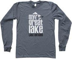 Lake Ontario Unisex Longsleeve