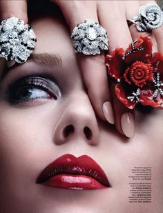 lelaid:Shot by by Eric Traore for Tatler Russia, April 2011