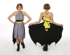 Vigilante inspired Convertible Dress