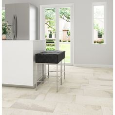 Ivetta White Porcelain Tile At Lowes This Is Going In The