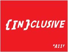 Inclusive Design, the way forward for UX and Accessibility? #A11y