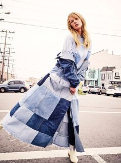 Anne Vyalitsyna for Marie Claire Italia by Mel Karch