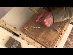 Curso fácil de talla en madera (2) parte 1/2, via YouTube.