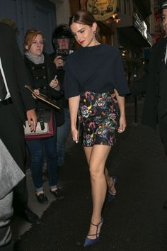 Actress Emma Watson arrives to attend the Dior Private Dinner as part... News Photo 451814866
