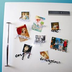 Mirror Acrylic Fridge Magnets from Liscious Inc (Canada)