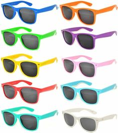 53f526102c4 Vintage Sunglasses Smoke Lens 10 Pairs in Multiple Colors OWL.  affilink   vintagesunglasses