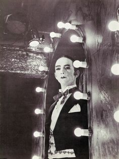 The flamboyantly ghoulish and extravagant Master of Ceremonies (The Emcee) in Kander & Ebb's Cabaret musical as played by Joel Grey in both the Broadway musical and film productions, set during the Weimar Republic in 1930's Berlin under the cloud of the rise of Nazism.
