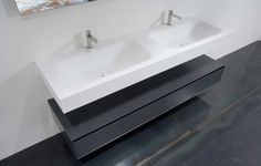 SEGNO top with integrated sink - Modern - Bathroom Sinks - miami - by antoniolupi Miami
