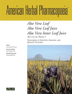 American Herbal Pharmacopoeia (AHP) - Roy Upton, Herbalist, Director