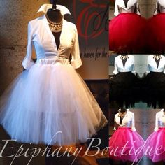 Image of The Layered Tulle Skirt-**Regular & Plus Size**