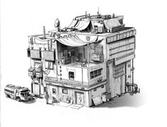 steampunk buildings - Google Search