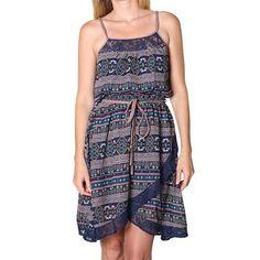 Double Zero Women's Aztec Print Dress