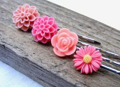 Items similar to Pink dusty magenta flower, Mother's day sale,bobby pin head Woman accessories hair rose mum bridesmaids wedding vintage filigree on Etsy Cyber Monday Sales, Black Friday, Hair Accessories, Stud Earrings, Trending Outfits, Unique Jewelry, Handmade Gifts, Pink, Etsy