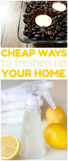 ways to freshen your home, diy air freshener, diy home air freshener