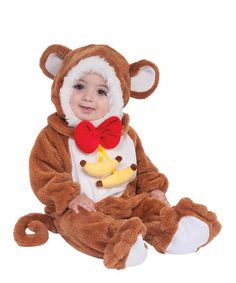 Brown Monkey Dress-Up Set - Infant & Toddler by Forum Novelties on #zulily!