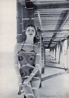 Swimwear from the 1950s... Pretty!