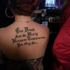 You say tommorrow, I say tomorrow. | 29 Heartbreakingly Misspelled Tattoos